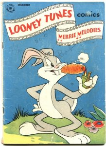LOONEY TUNES AND MERRIE MELODIES #49-1945-BUGS BUNNY--PORKY PIG--DELL
