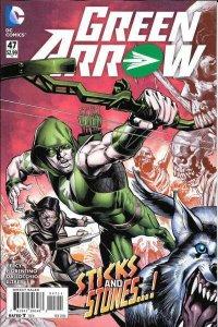 Green Arrow (2011 series) #47, NM (Stock photo)