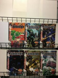 ROBODOJO (2002 WS) 1-6  the complete series! Wolfman