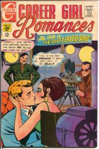 Career Gil Romance #51 1969-Charlton-film making cover and story-VG
