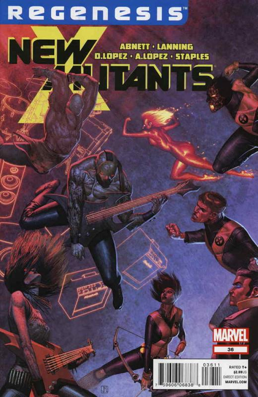 New Mutants (3rd Series) #36 VF/NM; Marvel | save on shipping - details inside
