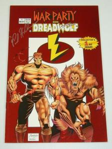 Lightning Comics Presents #1 VF; signed by Paul Abrams - war party - dreadwolf