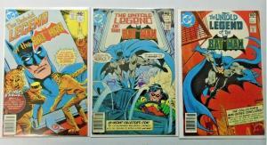 Untold Legend of the Batman set #1 to #3 8.0 VF (1980)