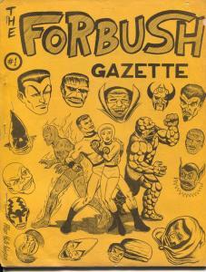 Irving Forbush Gazette #1 1966-Jeff Gelb-Stan Lee-Steve Ditko-Spider-man-VG