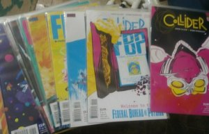 COLLIDER / FBP FEDERAL BUREAU OF PHYSICS # 1-24 OLIVER COMPLETE RUN CW  SHOW NEW