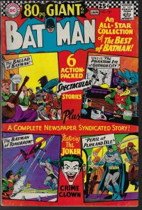 Batman #187 (DC, 1966) FN-