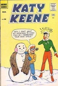 Katy Keene #58, VG- (Stock photo)