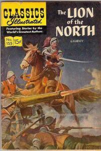 Classics Illustrated #155 (Mar-60) FN- Mid-Grade
