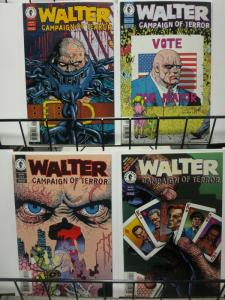 WALTER CAMPAIGN OF TERROR (1996 DH) 1-4  MASK spinoff !