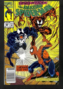 Amazing Spider-Man #362 VF/NM 9.0 2nd Carnage! Marvel Comics Spiderman