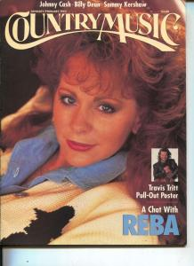 Country Music-Reba McEntire-Johnny Cash-Billy Dean-Jan-1993