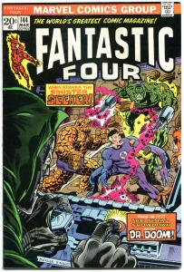 FANTASTIC FOUR #144, VF+, Doctor Doom, Sinister S, 1961, more FF in store, QXT