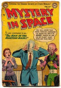 Mystery in Space #20 1954- Man in the Martian Mask G