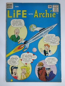 LIFE WITH ARCHIE 19 VG+ (3/1963) COMICS BOOK