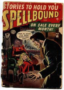 Spellbound #4 comic book DECAPITATION 1952-Atlas-pre-code horror-Russ Heath
