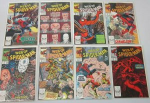 Web of Spider-Man comic lot from:#51-116 49 difference 8.0 VF (1989-93)