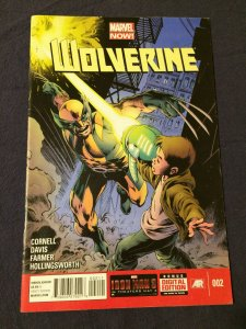 Wolverine #002 Marvel Comics VFN (2013)