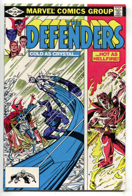 DEFENDERS #105, VF/NM, Doctor Strange, Son of Satan, 1972 1982, Marvel