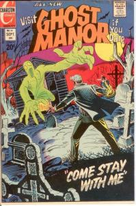 GHOST MANOR (1971-1984) 14 F-VF Sept. 1973 COMICS BOOK