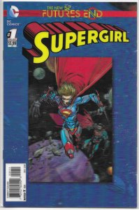 Supergirl  : Futures End #1 (3D) NM (New 52)