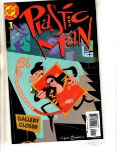 4 DC Comics Plastic Man 1 (2) + Phantom Stranger 1 + Parallax Emerald Night CR16