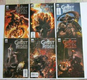 Ghost Rider #1-6 Full Set High Grade VF/NM Marvel Clayton Crain Garth Ennis 2005