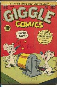 Giggle #74 1950-ACG-Superkatt-Spencer Spook-African-American character-FN