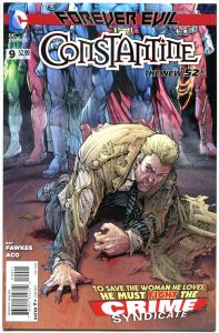 CONSTANTINE #9, NM,  John, Hellblazer, 2013, New 52 DC, more in store