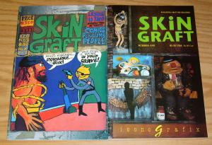 Skin Graft #1-2 VF/NM complete series - iconografix - mark fischer set 1992 lot