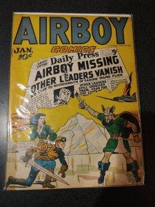 AIRBOY COMICS VOL.3 #12 GOLDEN AGE CLASSIC