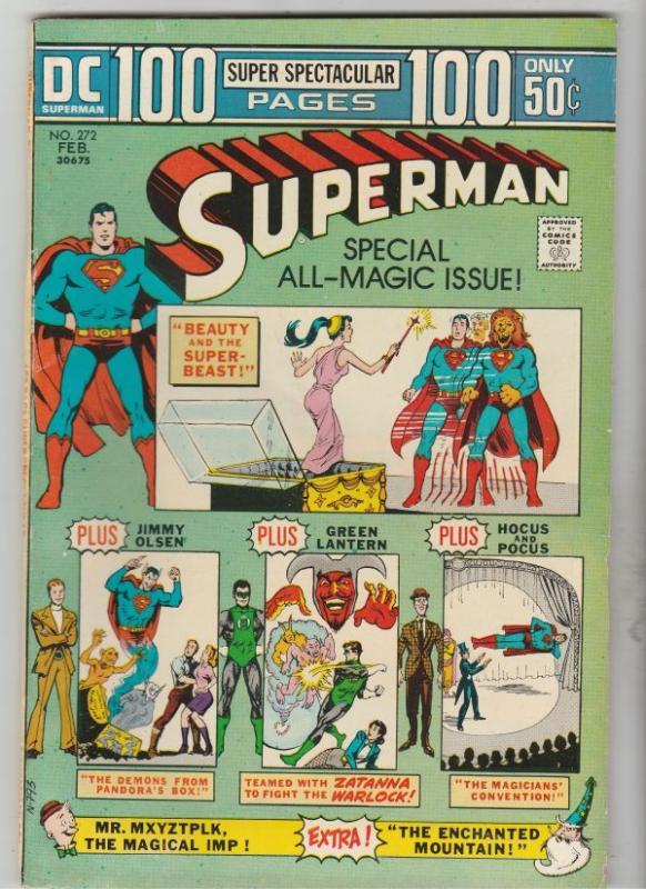 Superman #272 (Feb-74) VF+ High-Grade Superman
