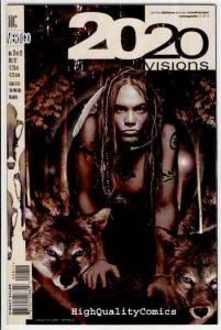 2020 VISIONS #8, NM+, Jamie Delano, Romberger, Vertigo, 1997, more in our store