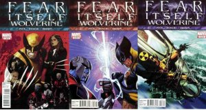 FEAR ITSELF WOLVERINE (2011) 1-3  vs 'The BOMB'!?! COMICS BOOK