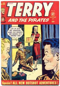 Terry and the Pirates #22 1950- Milton Caniff- Harvey Golden Age
