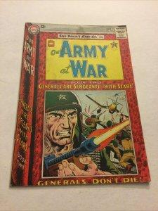 Our Army At War 148 Gd/Vg Good/Very Good 3.0  DC Comics