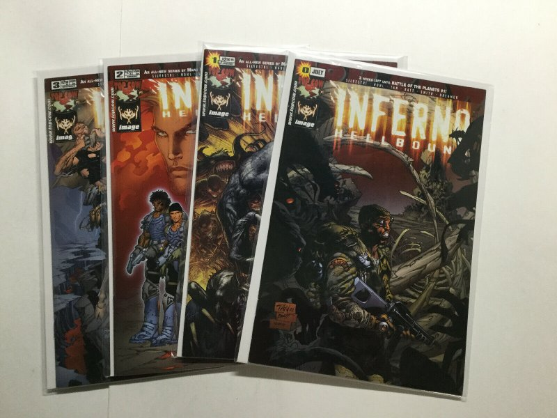 Inferno Hellbound 0 1-3 1 2 3 Lot Run Set Near Mint Nm Top Cow Image