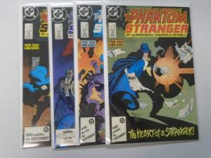 Phantom Stranger set #1 to #4 8.0 VF 4 different books (1987)