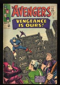 Avengers #20 VG/FN 5.0