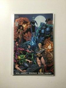 Section Zero 4 Variant Near Mint Image Comics HPA