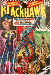 BLACKHAWK 231 VG-F April 1967 COMICS BOOK