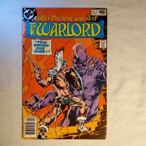 Warlord 25 Very Fine Cover by Mike Grell