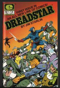 DREADSTAR #1-JIM STARLIN-EPIC-MOVIE-HIGH GRADE-NM