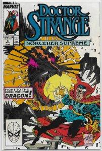 Doctor Strange, Sorcerer Supreme (1989) # 4 (dir.) FN Gillis/Case, Valkyrie