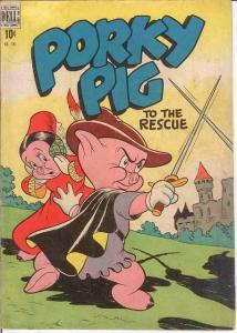 PORKY PIG (1942-1962 DELL) F.C. 191 (1949) VG- 1948 COMICS BOOK