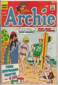 Archie #185 (Sep-68) FN+ Mid-High-Grade Archie