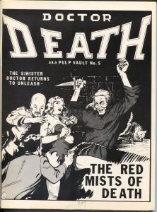 Pulp Vault #5 6/1989-seconf #5 issue-Dr Death-Talmage Powell-Avenger script-FN