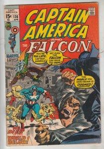 Captain America #136 (Apr-71) VF/NM- High-Grade Captain America