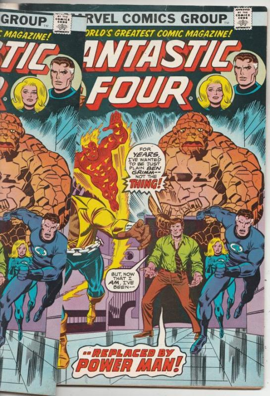Fantastic Four Double Cover #164 (Nov-75) VF High-Grade Fantastic Four, Mr. F...