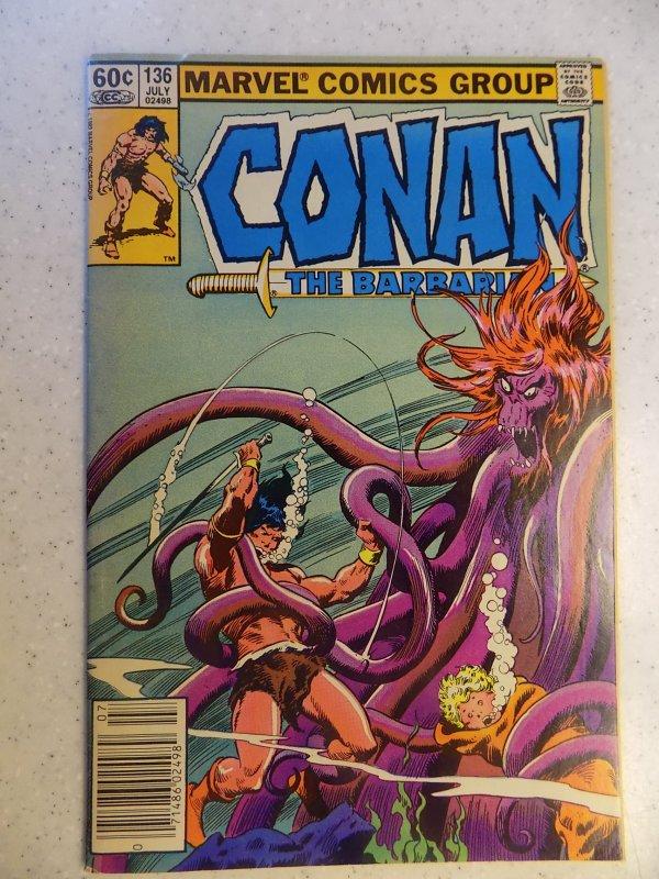 CONAN THE BARBARIAN # 136
