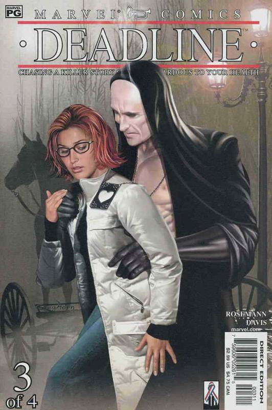 Deadline (Marvel) #3 VF/NM; Marvel | save on shipping - details inside